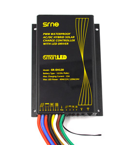15A ac dc hybrid solar charge controller