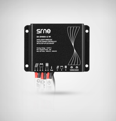 10A Lithium battery led driver solar charge controller